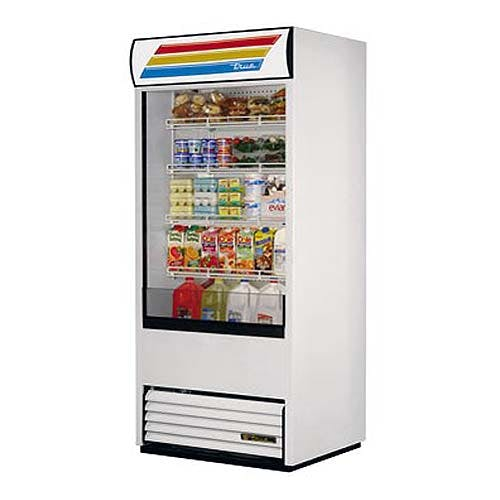 "True (TAC-36) - 36"" Vertical Air Curtain Merchandiser Merchandiser sold by Food Service Warehouse"