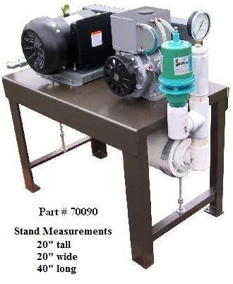 3 HP Vacuum pump unit only