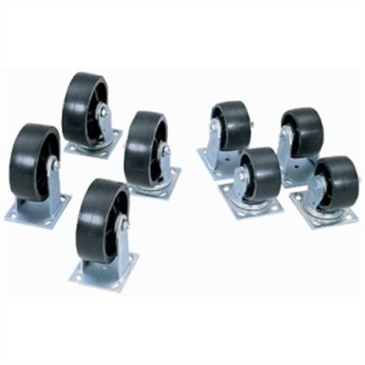 "4"" CASTER SET 4PC FOR JOBOX & JOBSITE PRODUCTS 217-1-320990 Industrial caster sold by Janeice Products Co Inc."