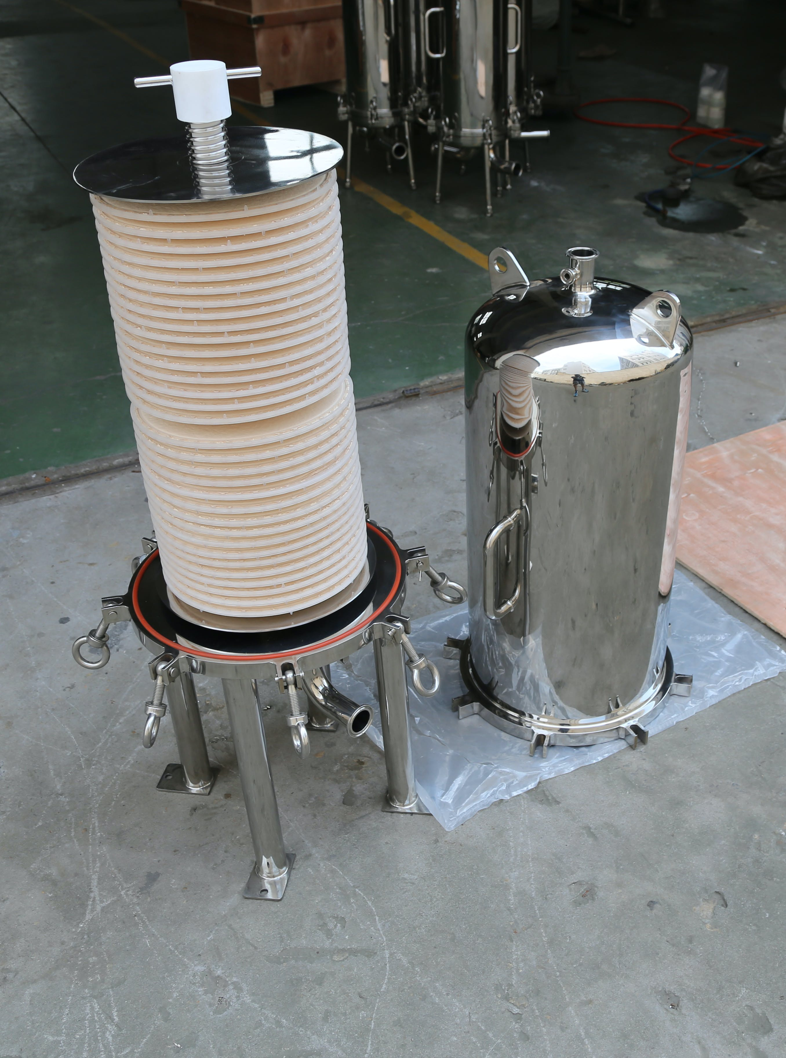 HFI Brewing filtration sold by Heyes Filters Inc.
