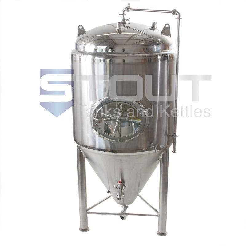 Jacketed Fermenter Fermenter sold by Stout Tanks and Kettles