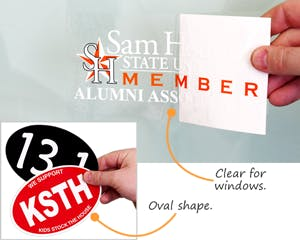 Bumper Stickers - sold by Smartsign