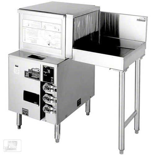 Glastender - GT-18+1R 600 Glass/Hr Pass-Through Rotary Rack Glasswasher Commercial dishwasher sold by Food Service Warehouse