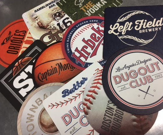 Sports Coasters Drink coaster sold by Coaster Factory