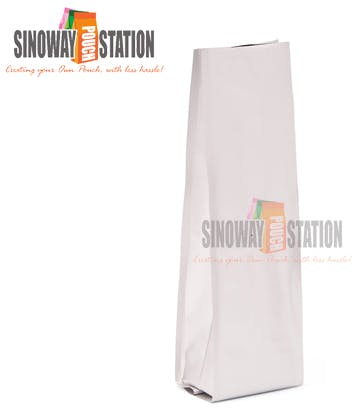 Foil Quad Seal Side Gusseted Pouch - sold by sinowaypouchstation.com,LLC