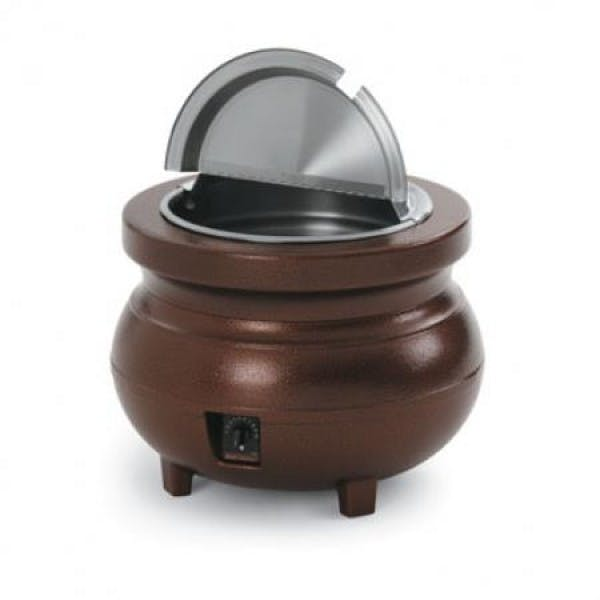Cayenne® Colonial 11 qt. Brown Kettle Warmer