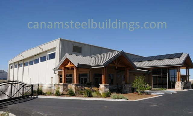 Hangar/FBO - Steel Building Systems - sold by CanAm Steel Building Corporation