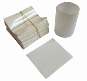 White Shrink Bands for Bottles with 28mm Finish Shrink band sold by Fillmore Container Inc