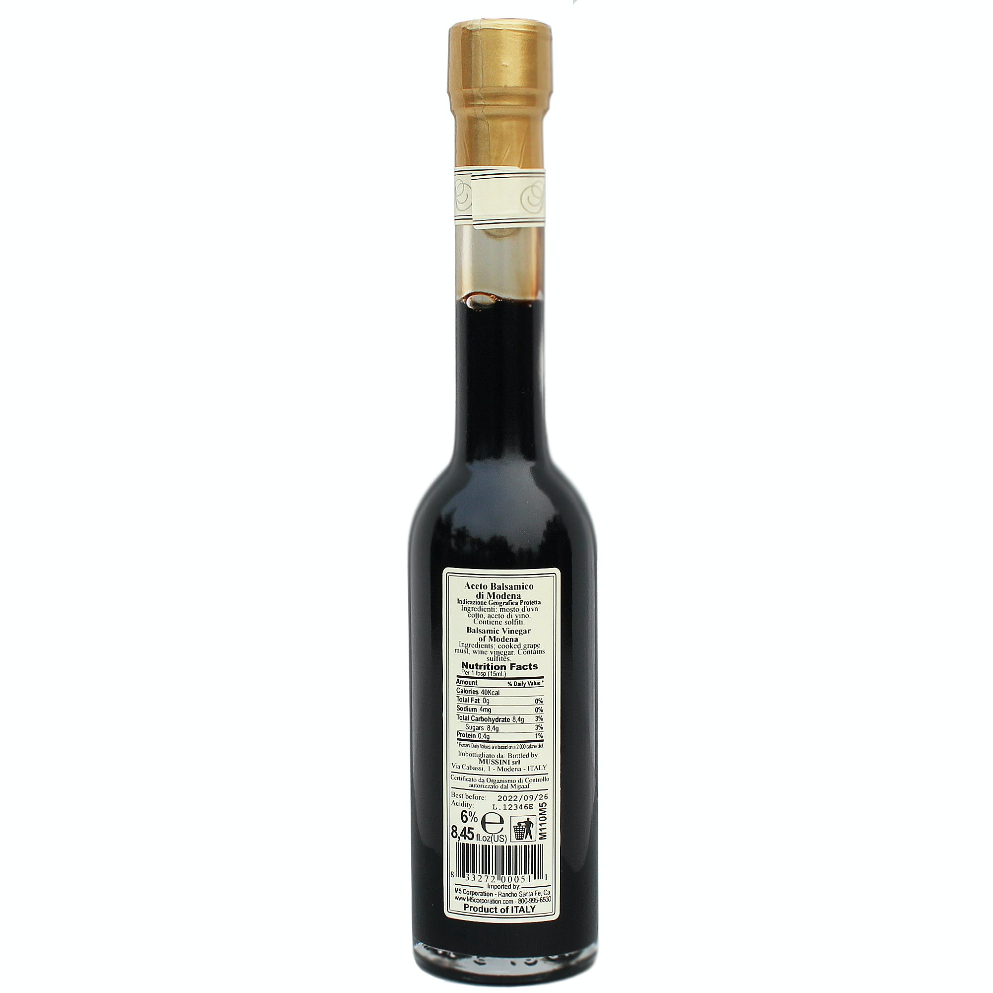 Two Coin 6 Year Balsamic Vinegar - sold by M5 Corporation