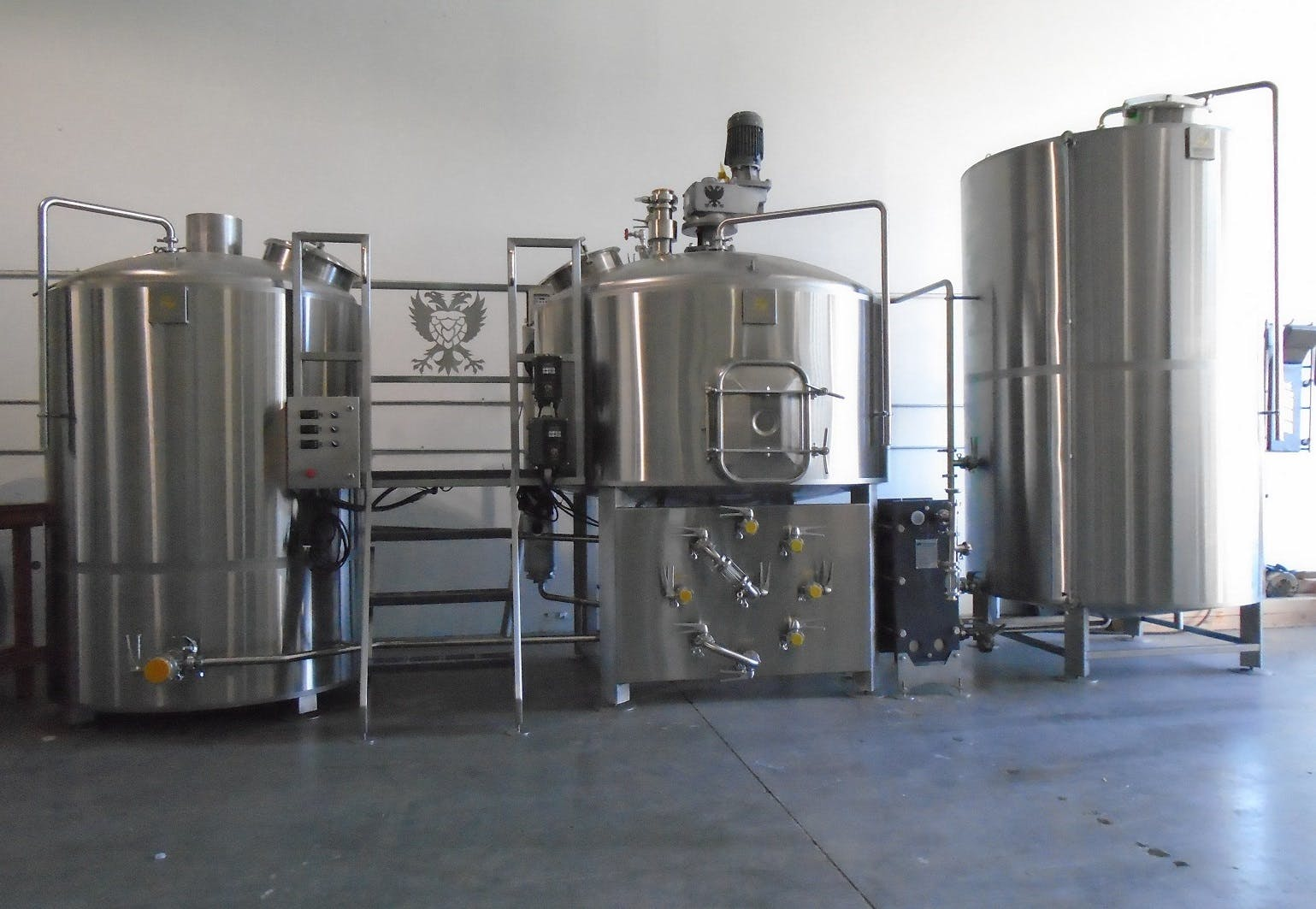 5-30 BBL Steam heated brewhouse Brewhouse sold by Bridgetown Brew Systems llc.