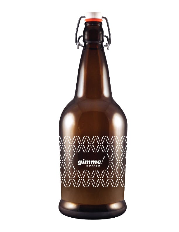 BB32FT - 32 oz Amber Flip Top EZ Cap Beer Bottle/Growler Growler sold by ARTon Products