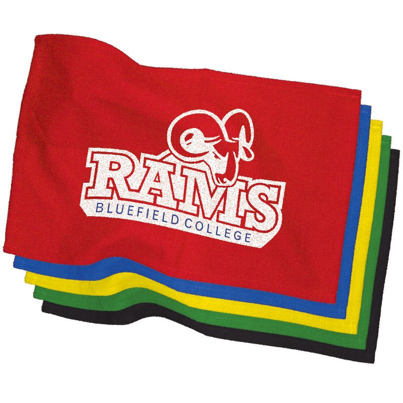 Rally Towel (Item # NFHQS-IYYRJ) Promotional apparel sold by InkEasy