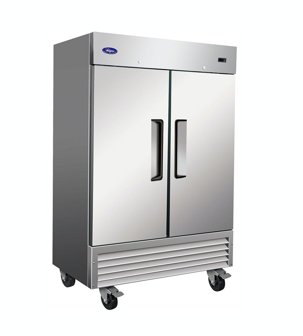 Valpro VP2R - 49 cu. ft. Double Solid Door Refrigerator