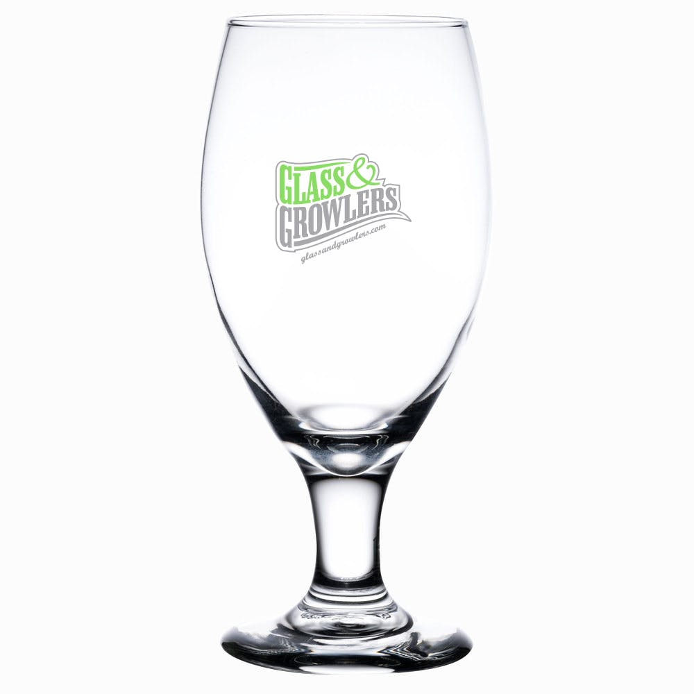 3915 Teardrop 14.75 oz Beer glass sold by Glass and Growlers