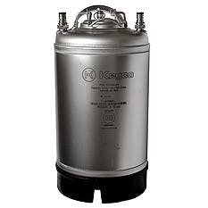 Kegco Home Brew Beer Keg - Ball Lock 3 Gallon Strap Handle Keg sold by Beverage Factory