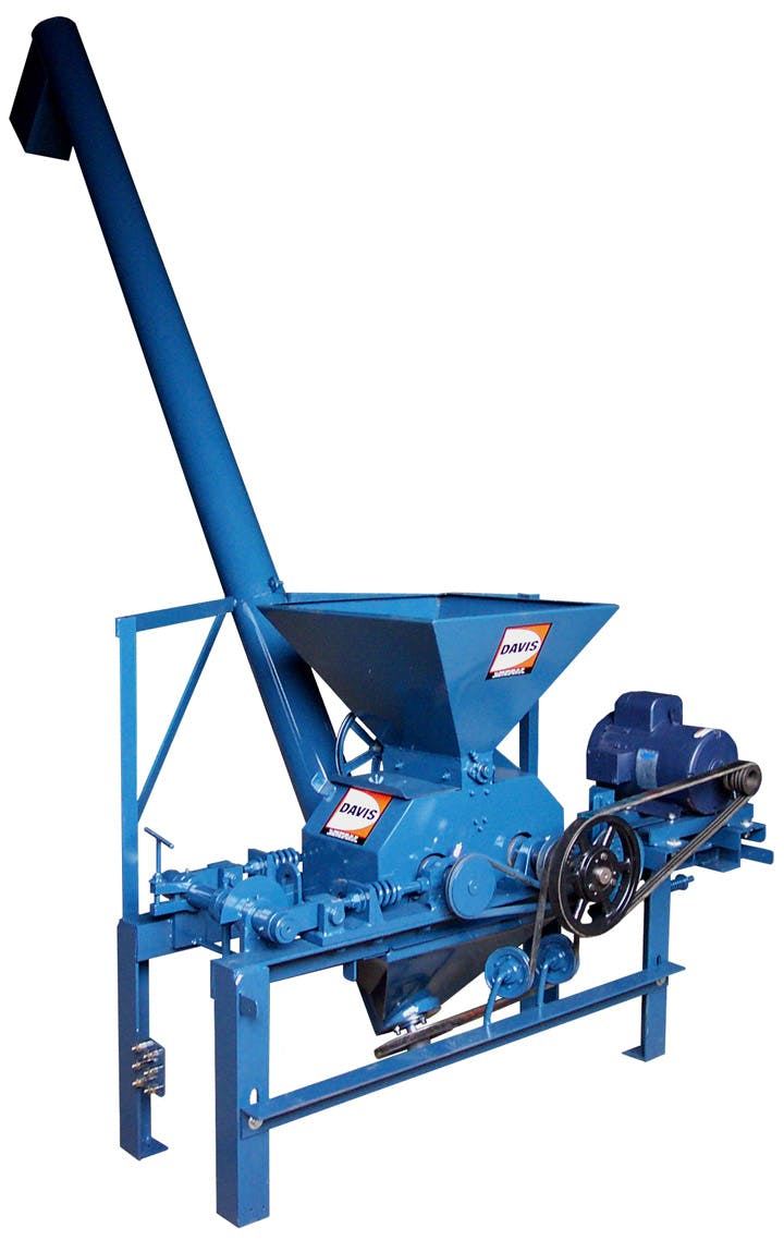 100A Roller Mill with Discharge Auger