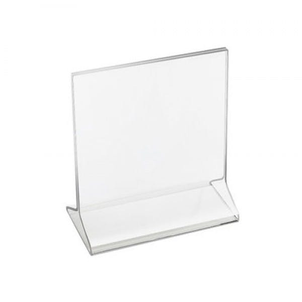 "2-1/4"" x 2-1/4"" Plastic Menu Card Holder"