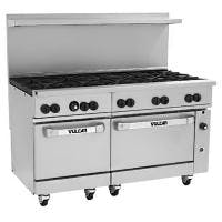 "Vulcan 60SS-10B - Endurance Series 60"" Gas Range, 10 Burner Commercial range sold by Prima Supply"