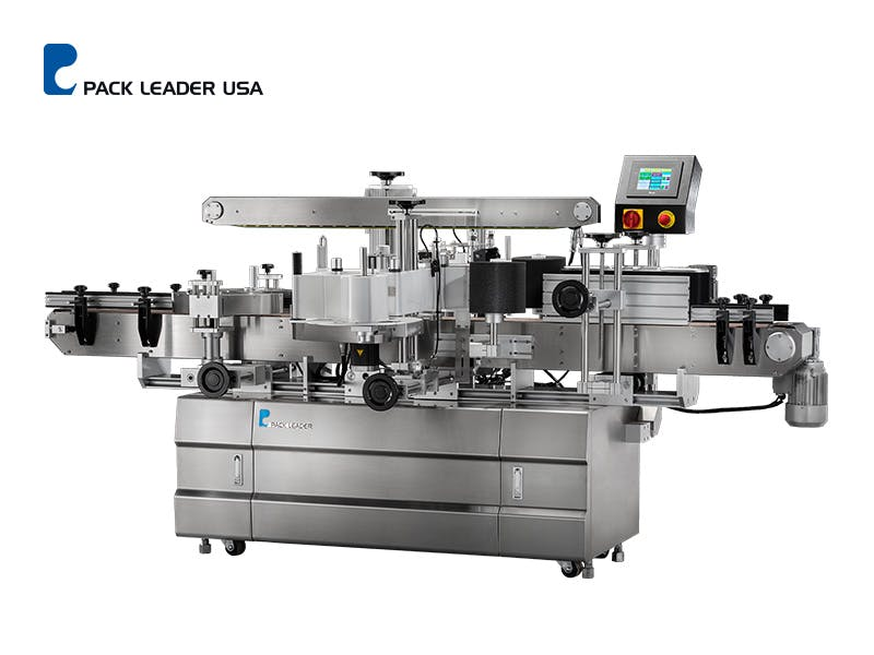PRO-625 Picture - PRO-625 Front and Back Labeling Machine - sold by Pack Leader USA, LLC