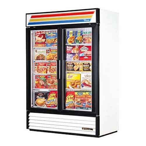 "True (GDM-49F) - 54"" Glass Door Merchandiser Freezer Merchandiser sold by Food Service Warehouse"