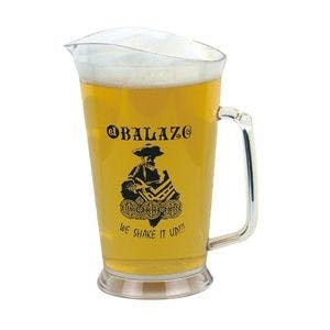 32 Oz. Plastic Pitcher Beer pitcher sold by Custom H2Oh!