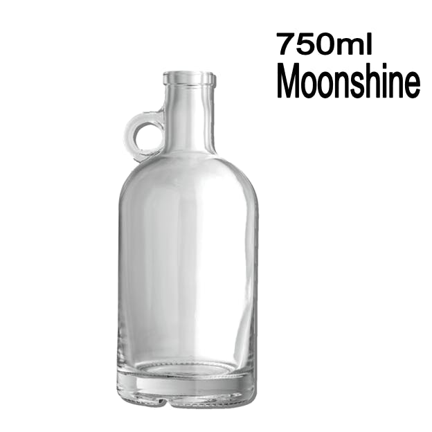 750ml Moonshine Liquor bottle sold by Wholesale Bottles USA