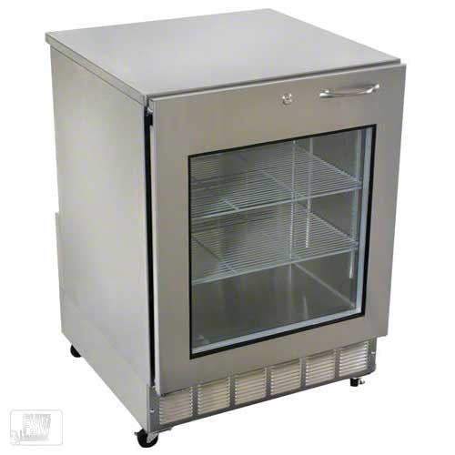 "Glastender - UCR24X-L 24"" Undercounter Refrigerator Commercial refrigerator sold by Food Service Warehouse"