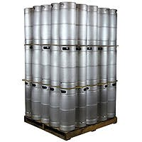 Kegco Pallet of 75 Kegs - 5 Gallon Commercial Keg with Drop-In D System Sankey Valve Model:75X-KEG5-DI Keg sold by Beverage Factory