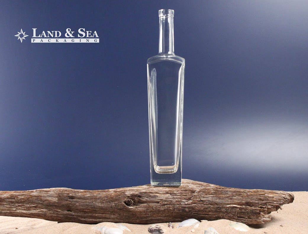 New Yorker Spirit Bottle Liquor bottle sold by Land & Sea Packaging