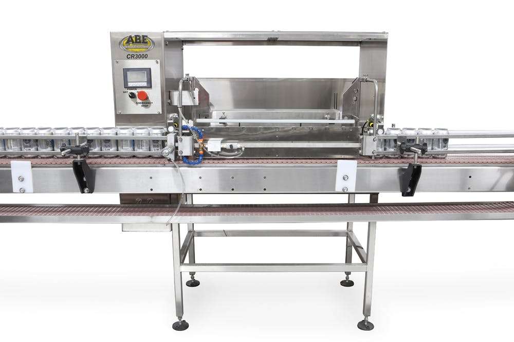 CR60 Automatic Can Rinser Can filler sold by American Beer Equipment