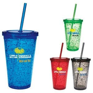Good Value 18 Oz. Double Wall Tumbler W/ Cooling Gel   Plastic cup sold by Dechan, Inc. II