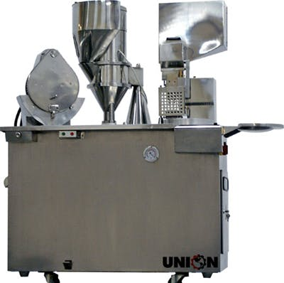 UNION VSF-III S/S SEMI-AUTO CAPSULE FILLER Capsule filler sold by Union Standard Equipment Co