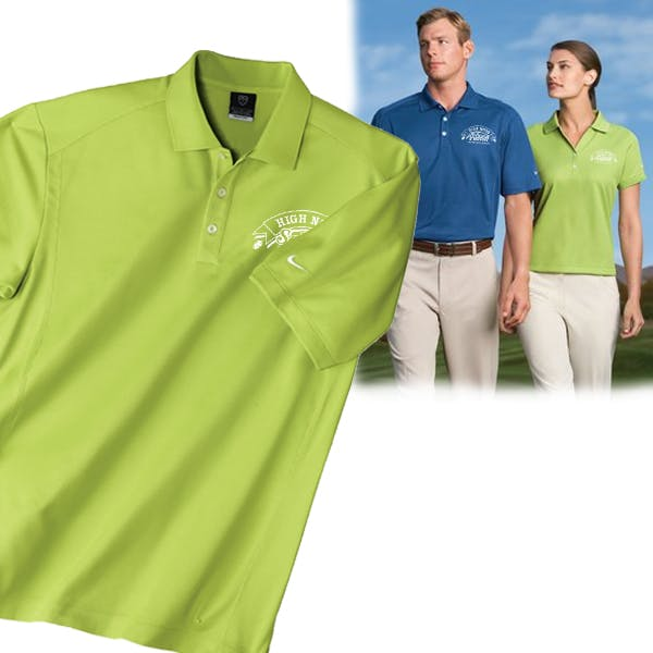 Men/Ladies Nike Golf Dri-FIT Classic Sport Shirt Promotional shirt sold by MicrobrewMarketing.com