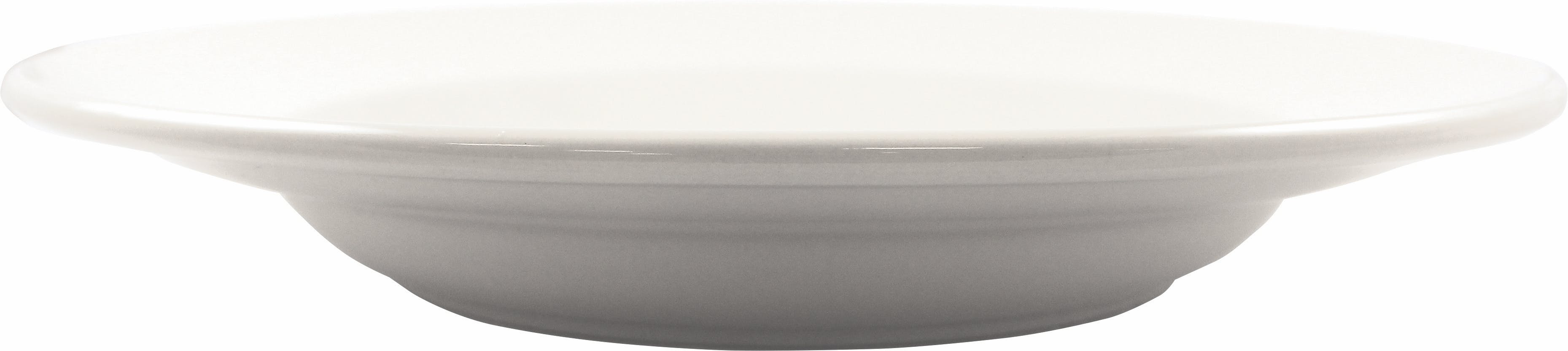 20 oz. Roma Rolled Edge Pasta Bowl Plate sold by Prestige Glassware