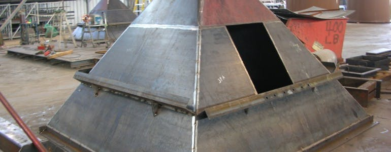 Hoppers Hopper sold by Southern Metal Fabricators, Inc.