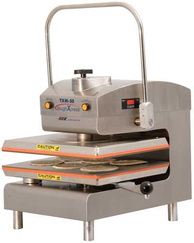 TXM-SS Tortilla press sold by DoughXPress