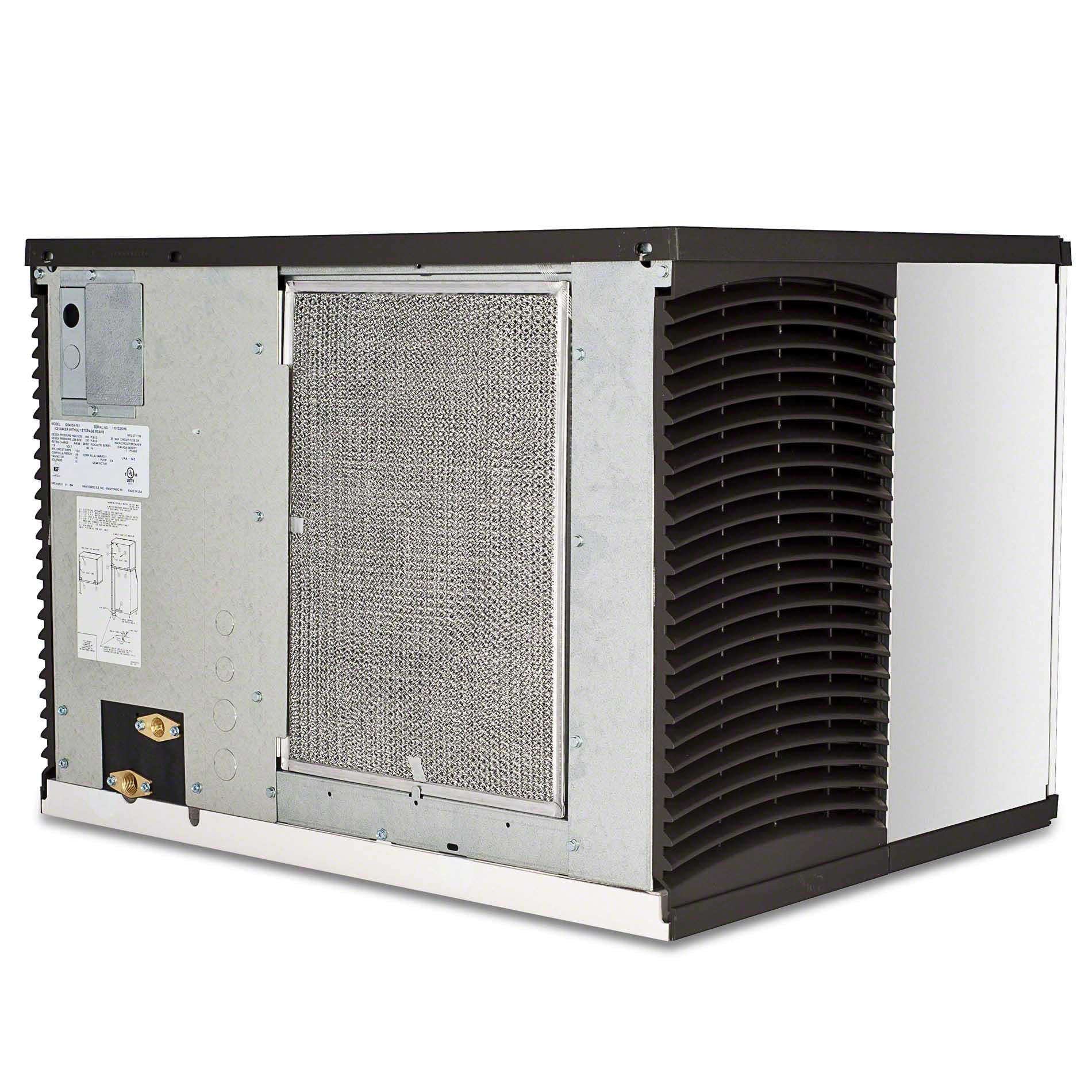 Manitowoc - ID-0452A 420 lb Full Size Cube Ice Machine - Indigo Series Ice machine sold by Food Service Warehouse