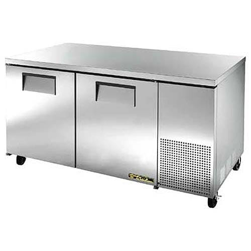 "True ( TUC-67F ) - 68"" Deep Undercounter Freezer Commercial freezer sold by Food Service Warehouse"
