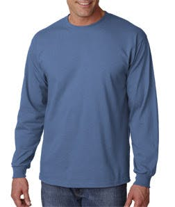 Gildan Adult Ultra Cotton&#153 Long-Sleeve T-Shirt Promotional shirt sold by Mission Screen Printing