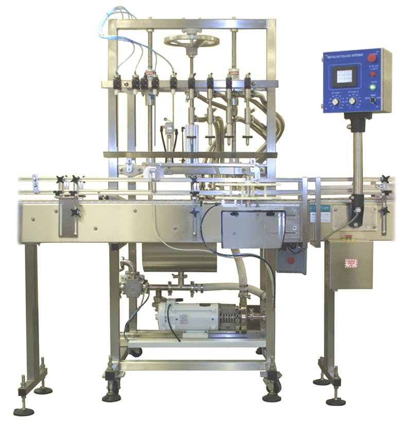 Overflow Filling Machine - sold by Inline Filling Systems