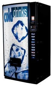 Royal Vendor Cold Drink Vending machine sold by Miami Vending Machines