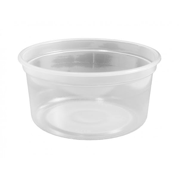 12 oz. Clear Plastic Food Container