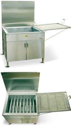 Belshaw Adamatic by Unisource 734CG - Gas Open Kettle Fryer Commercial fryer sold by Elite Restaurant Equipment