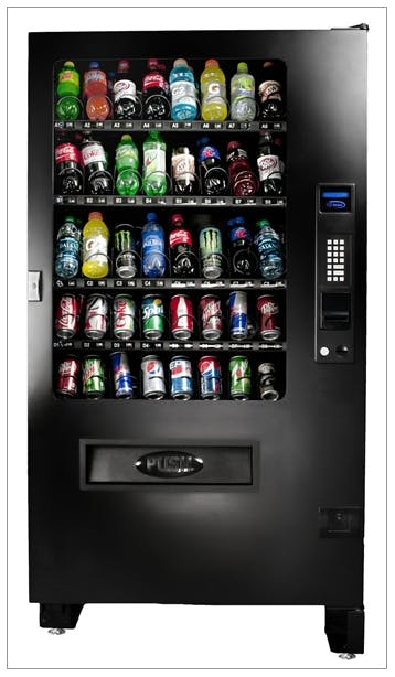 40 Select Infinity INF5B Soda Vending Machine Vending machine sold by MEGAvending.com