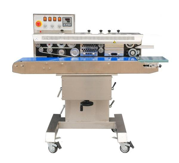 FRM-1120C Horizontal Free-Standing Band Sealer Bag sealer sold by Sealer Sales