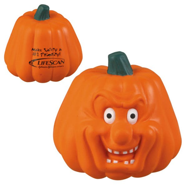 Ariel :: Pumpkin Maniacal - LHO-PM06 Stress reliever sold by Distrimatics, USA