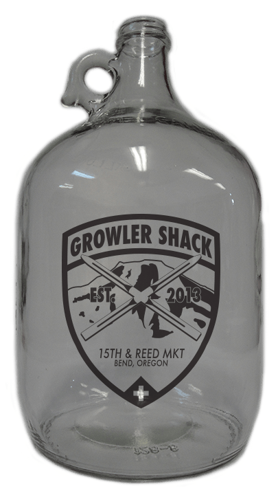 1gal Flint Growler Growler sold by Cascade Graphics