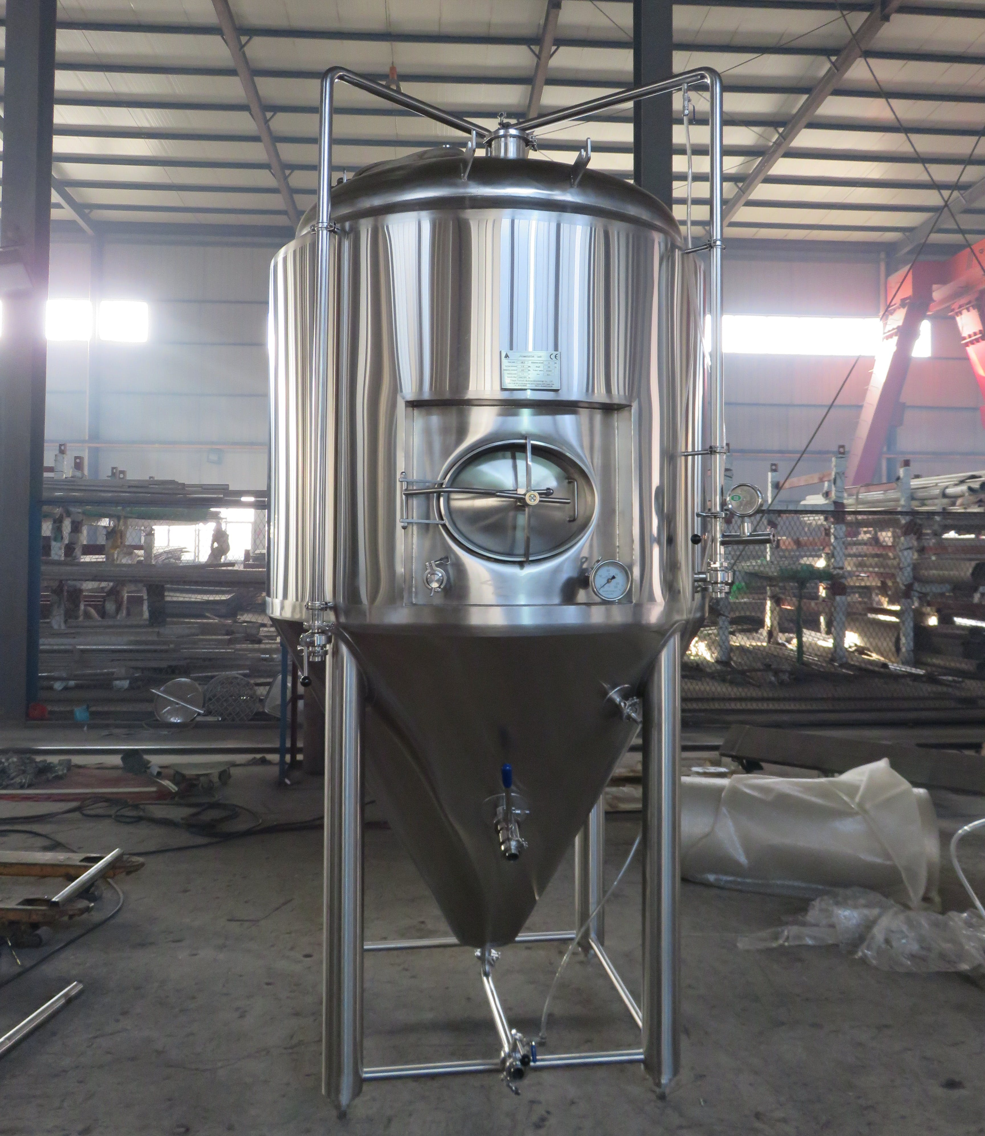 Fermentation Conical Fermenter sold by Prettech Canada