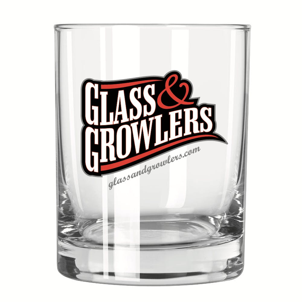 Double Old Fashioned 13.5 oz Glass Beer glass sold by Glass and Growlers