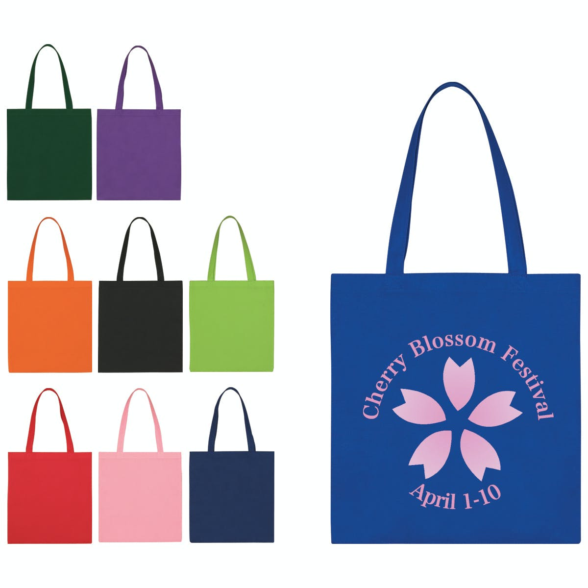 Economy Tote Bag (Item # BGHKM-GVSJH) Bag sold by InkEasy